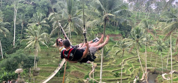 Image result for Bali Tukad Cepung Waterfall & Jungle Swing
